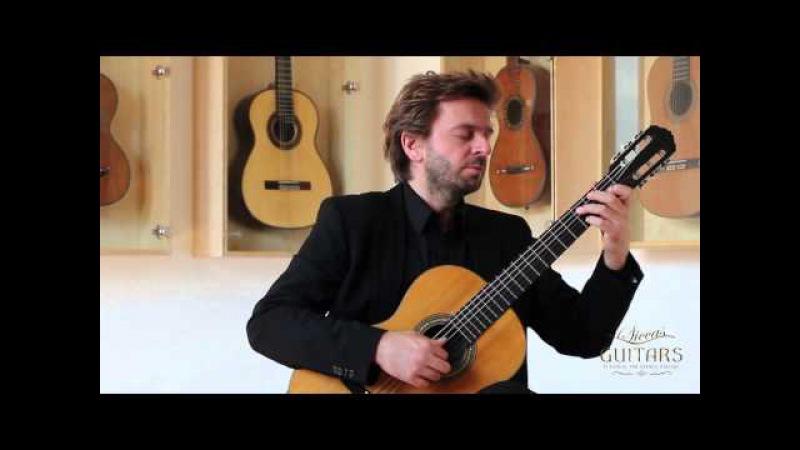 Marcin Dylla plays Ständchen by Franz Schubert on a 1924 Hermann Hauser I
