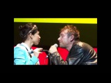 Damon Albarn Funny moments on stage (Part 1)