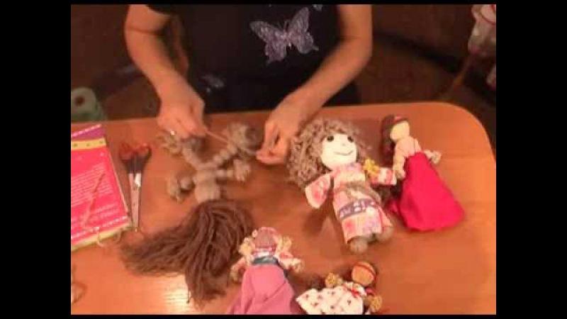 Быстро делаем куклу мотанку своими руками. Кукла мотанка