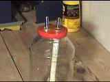 как сделать сухопарник из банки или барботер из банки, how to make a bubbler for moonshine
