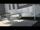 Altercad - SketchUp мохнатый ковер в SketchUp и V-Ray. Песочница Дисплейсмент.