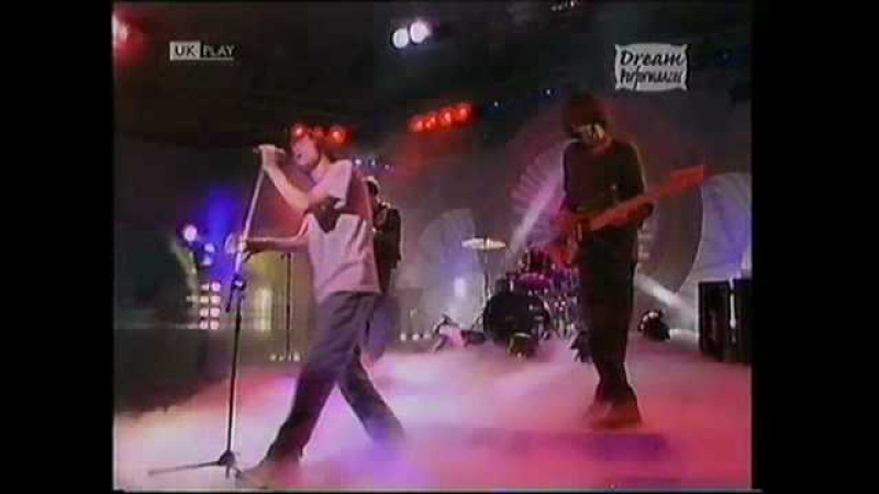 Blur's 1st TV apparence There's No Other Way Eggs And Baker 1991