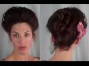 Как сделать прическу 1900-х годов. How to EDWARDIAN 'Psyche knot' Hair Tutorial (1900's 1910's hairstyle ) - Vintagious