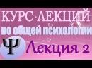 Общая психология Курс лекций В В Петухова Лекция 2