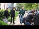 09 05 2014 Массовые расстрелы в Мариуполе огонь по толпе
