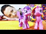 Мой маленький пони: заклятие Принцессы. Видео с игрушками для девочек
