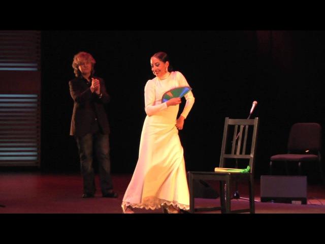 Mayte Martín Belén Maya during IV Dutch Flamenco Biennale - Amsterdam, 1 February 2013