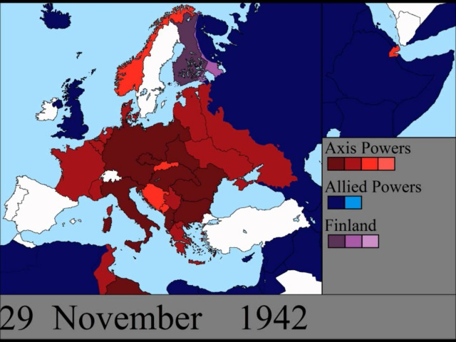 World War II in Europe Every Day