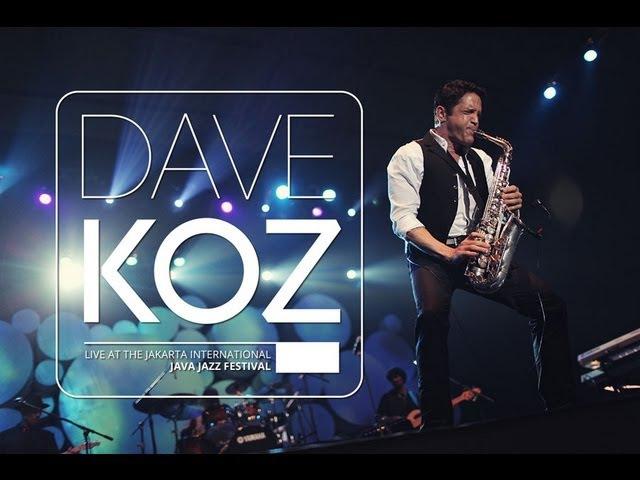 Dave Koz ft. 57Kustik - You Make Me Smile Live At Java Jazz Festival 2012