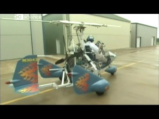 Дело техники. Небесный мотоцикл - автожир.