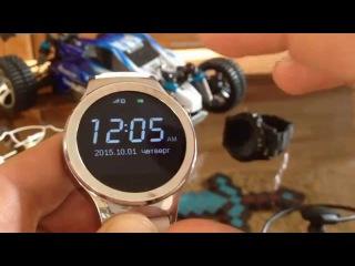 Обзор умные часы с sim-картой  No.1 S3 smart watch review Сравнение No.1 Sun S2