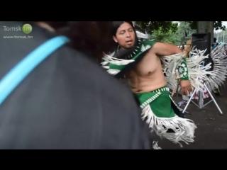 Индейская живительная музыка