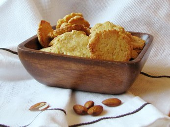 Миндальное печенье GTqhxHhYm7g
