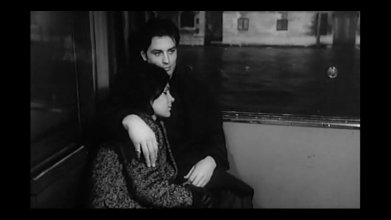 Ален Делон в фильме Рыжая (Die Rote, 1962)