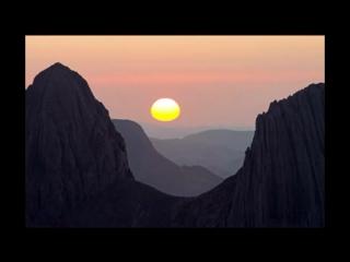---اجمل غروب للشمس في العالم من الصحراء الجزائرية - YouTube