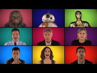 Актеры из «Звездных войн» спели мелодии из фильма а капелла