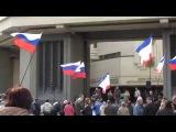 Крымская  ВЕСНА. 6 марта 2014. Парламент Крыма.