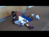 Kevin Hart as Money Mayweather &amp Uncle Roger work the boxing mitts.