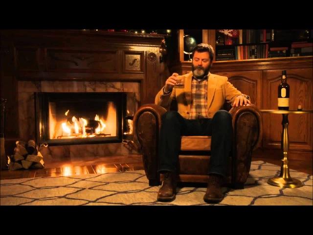 Nick Offerman's 'Yule Log' Ten Hour Version Идеальный собеседник
