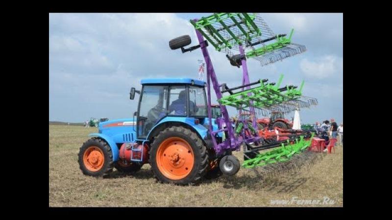 Сельскохозяйственная техника на выставке ВолгоградАгро День Поля 2013