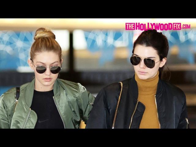 22 декабря 2015 шоппинг в магазине Barneys New York с Джиджи Хадид Беверли Хиллз 2015