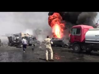 Сирия. Горит нефтегазовый бизнес террористов ИГИЛ ! Свежие Новости Сегодня