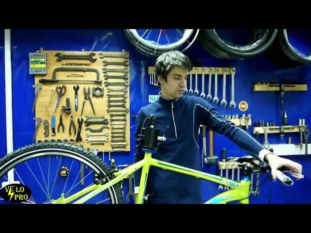 как настроить ободные тормоза на велосипеде как собрать велосипед из коробки 4