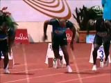 Slow mo Analyse of Best Starting Block Tecnique - Asafa Powell