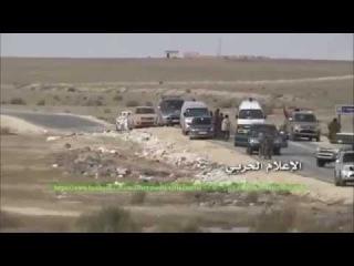 Дорога жизни в Сирии полностью зачищена от боевиков ИГИЛ. Успешная операция ВКС России и сирийской армии.