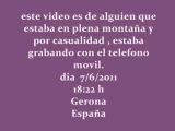 Четкая запись НЛО в сопровождении двух истребителей в небе Испании