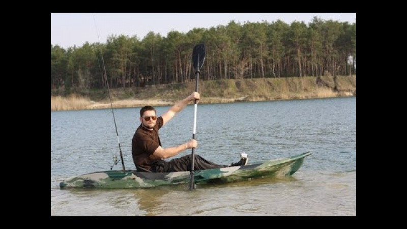 Обзор Каяк Колибри Он Вэйв 300 Review Kayak Kolibri On Wave 300