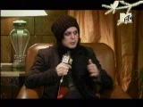 Ville Valo on MTV Russia News Blok