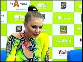 Alina Kabaeva 2007 Portimao hoop