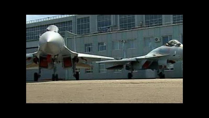 Российская армия получила 2 новейших истребителя Су 35C от КБ Сухой 16 07 2015