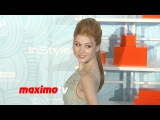 Katherine McNamara 2014 Inspiration Awards Red Carpet Arrivals