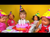 Birthday Party Toys and Songs for Children День Рождения любимой куклы Бэллы