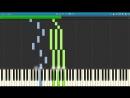 Макс Корж - Мотылек пример игры на фортепиано piano cover