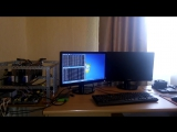 Майнинг Ethereum Ферма_rig GPU R9 270x 280x