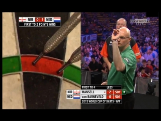 Netherlands vs Northern Ireland (PDC World Cup of Darts 2015 / Quarter Final)