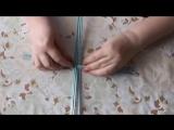 Плетение из газет: чайный домик