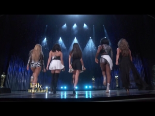 Fifth Harmony - «Work From Home» + «Worth It» («Live on Kelly and Michael»)