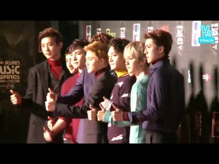 151202 [V] MPD 2015 MAMA EXO Red Carpet