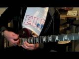 Gibson Les Paul Studio demo Am jam Rock blues riffs