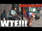 MAN Walks Around the HOOD NAKED!!!