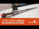 Como Fazer a Adaga de Rumplestiltskin - Once Upon a Time | Oficina DIY #13