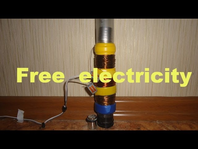 Как сделать линейный генератор своими руками \How to make a linear generator