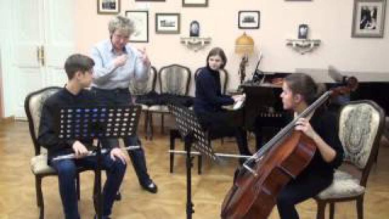 Master class of Cordula Hacke (Chamber Ensemble)
