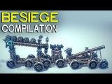 ►Besiege Compilation - Amazing ground war machines