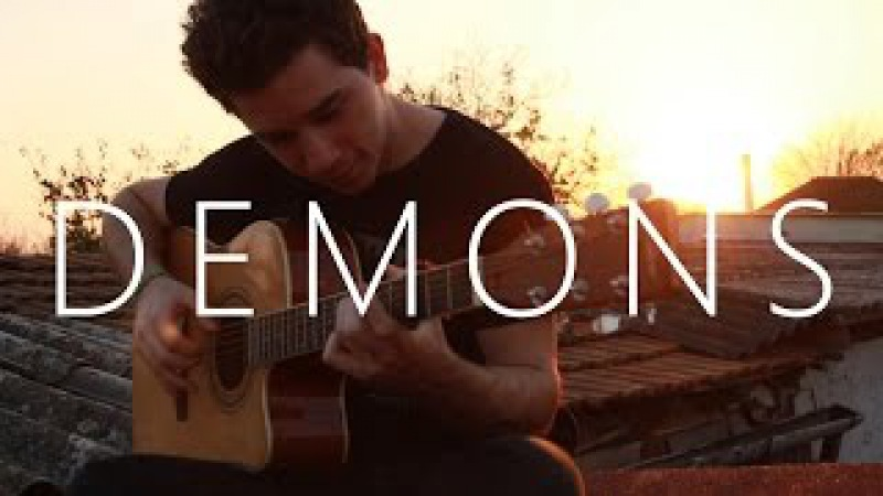 Imagine Dragons - Demons (fingerstyle guitar cover by Peter Gergely) [WITH TABS]