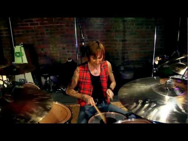 Godsmack - (Speak) Shannon Larkin, Behind the Player